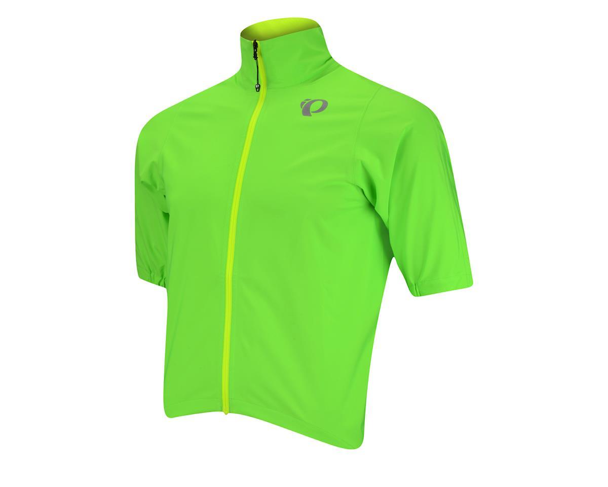 Pearl Izumi PRO Short Sleeve Rain Jacket (Bright Green)