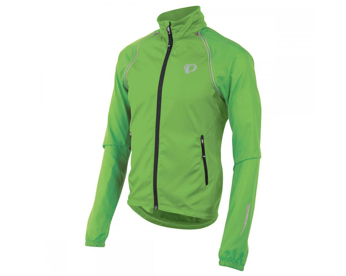 Pearl Izumi Elite Barrier Convertible Bike Jacket (Screaming Green)