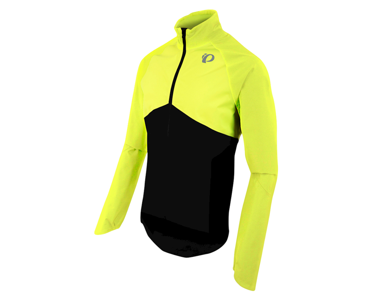 Pearl Izumi SELECT Barrier WxB Jacket (Black/Screaming Yellow) (2XL)