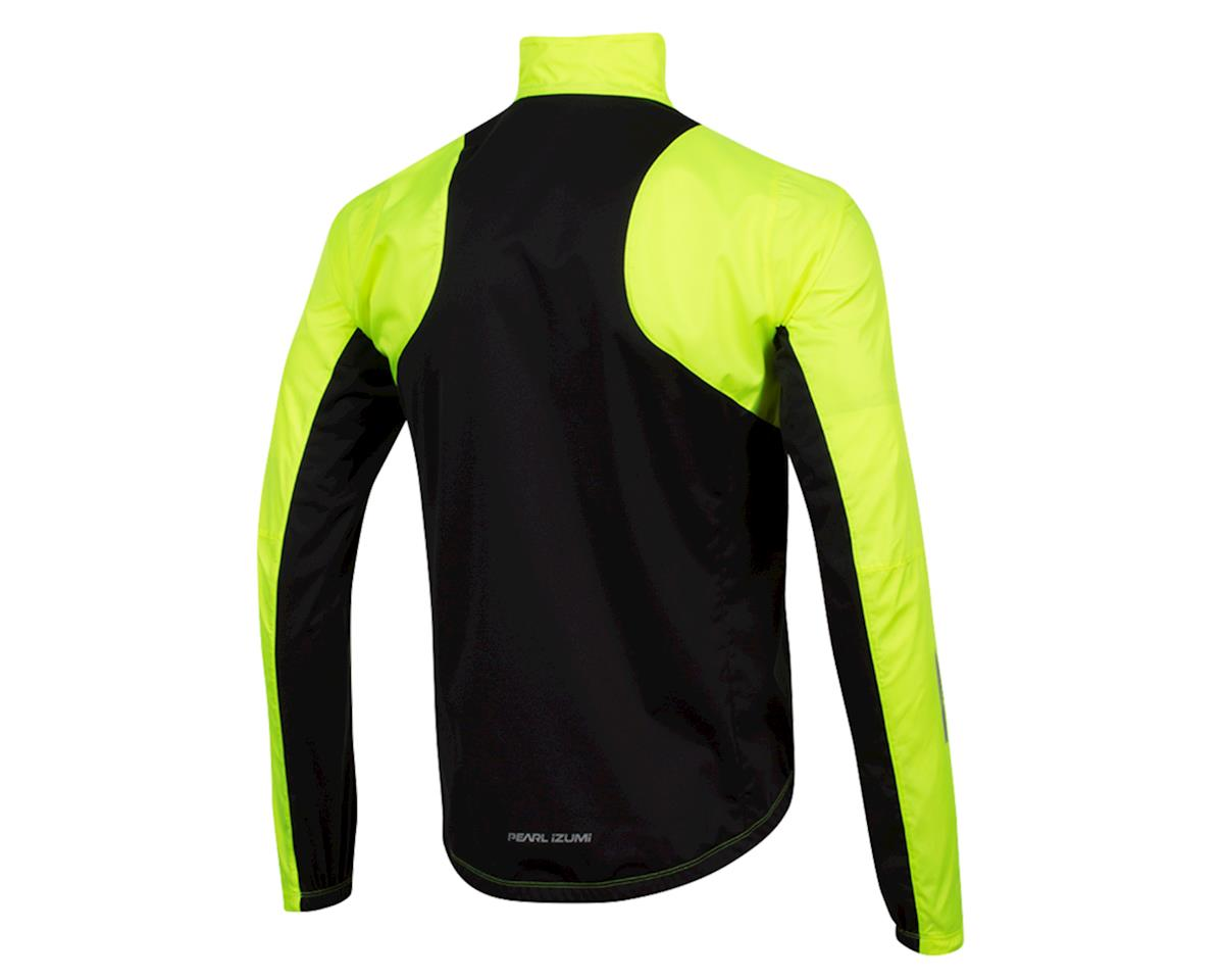 Image 2 for Pearl Izumi Elite Pursuit Hybrid Jacket (Screaming Yellow/Black) (L)