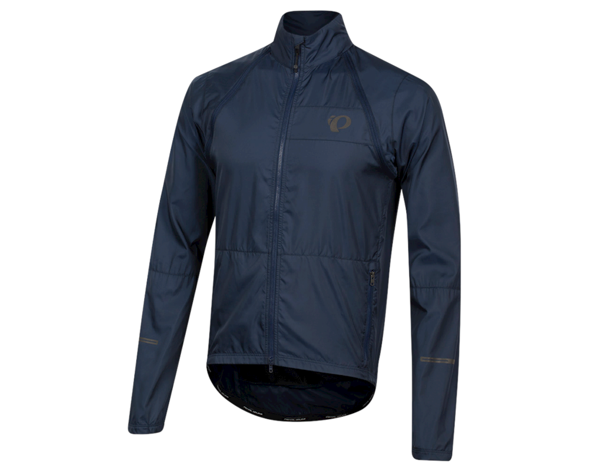Pearl Izumi Elite Escape Convertible Jacket (Navy) (L)