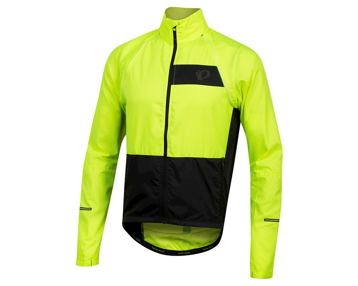 Pearl Izumi Elite Escape Convertible Jacket (Screaming Yellow/Black) (XL)