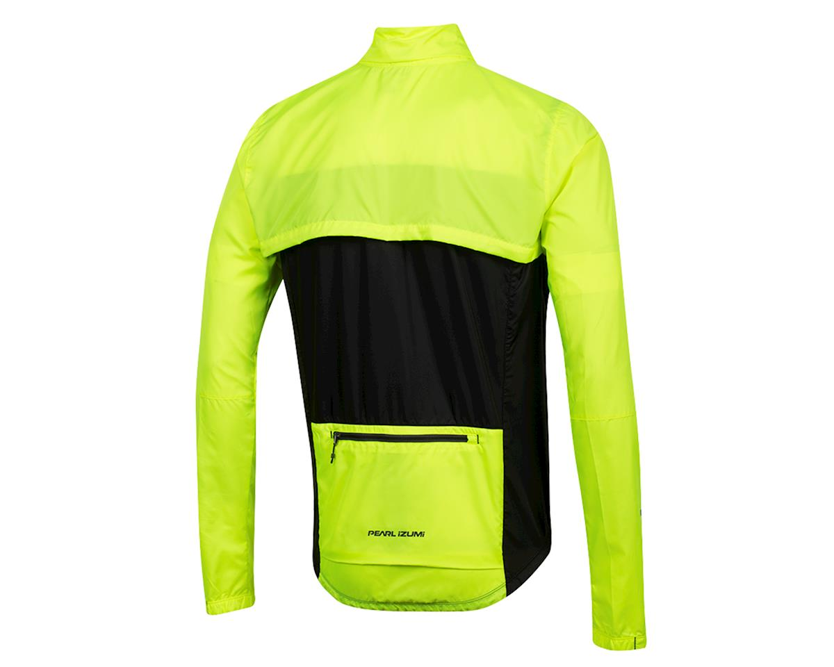 Image 2 for Pearl Izumi Elite Escape Convertible Jacket (Screaming Yellow/Black) (XL)