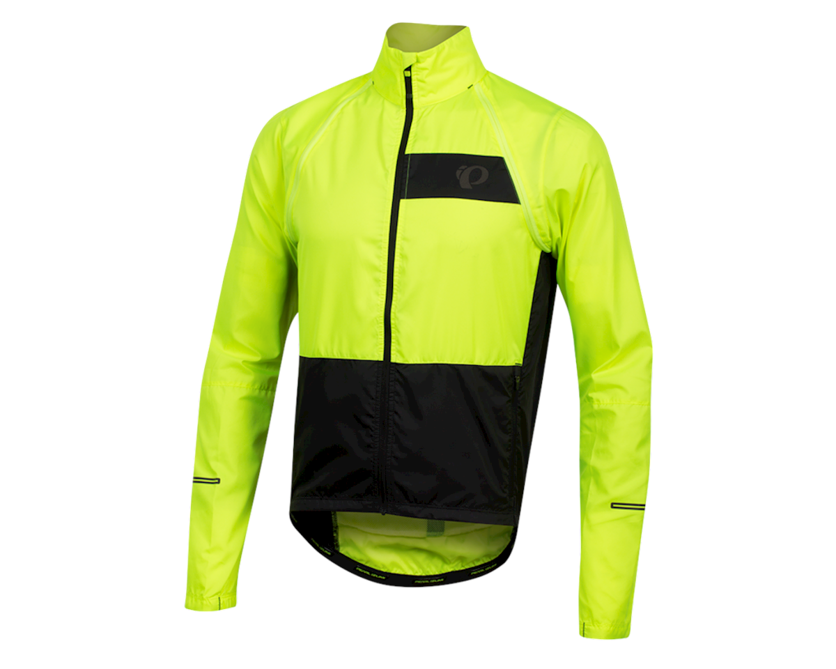 Pearl Izumi Elite Escape Convertible Jacket (Screaming Yellow/Black) (XS)