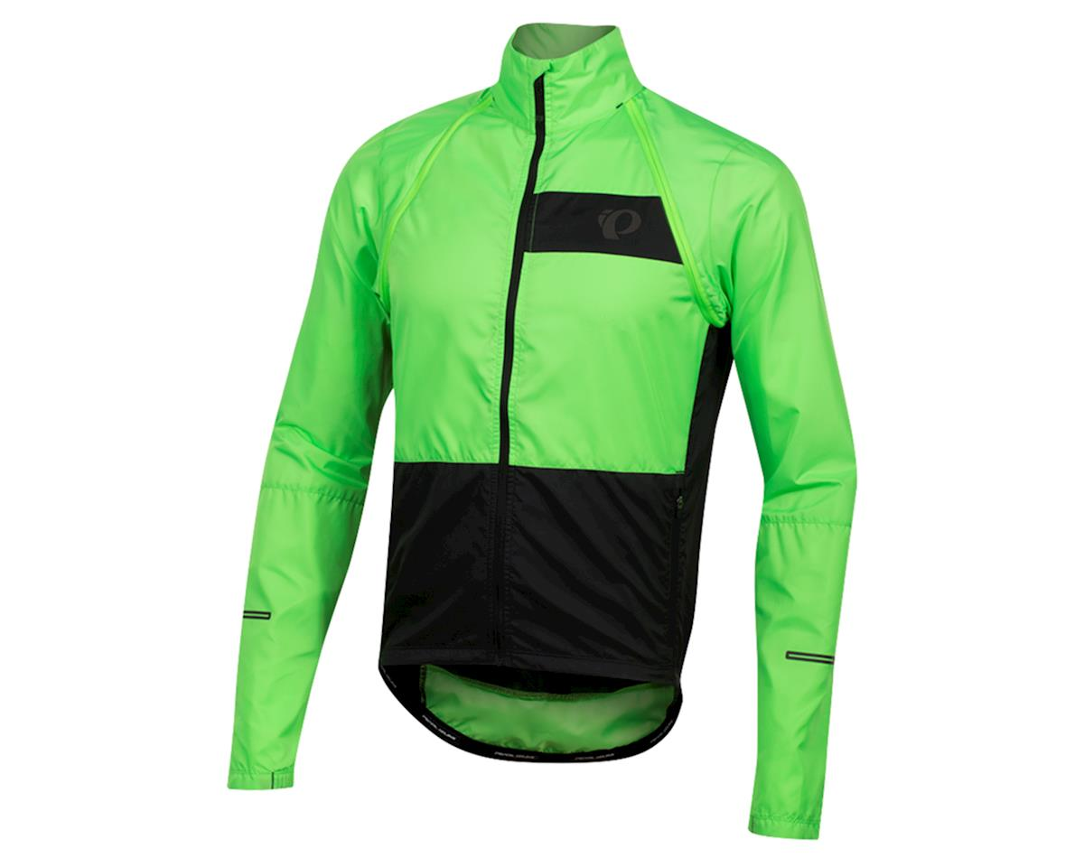 Pearl Izumi Elite Escape Convertible Jacket (Screaming Green/Black) (L)