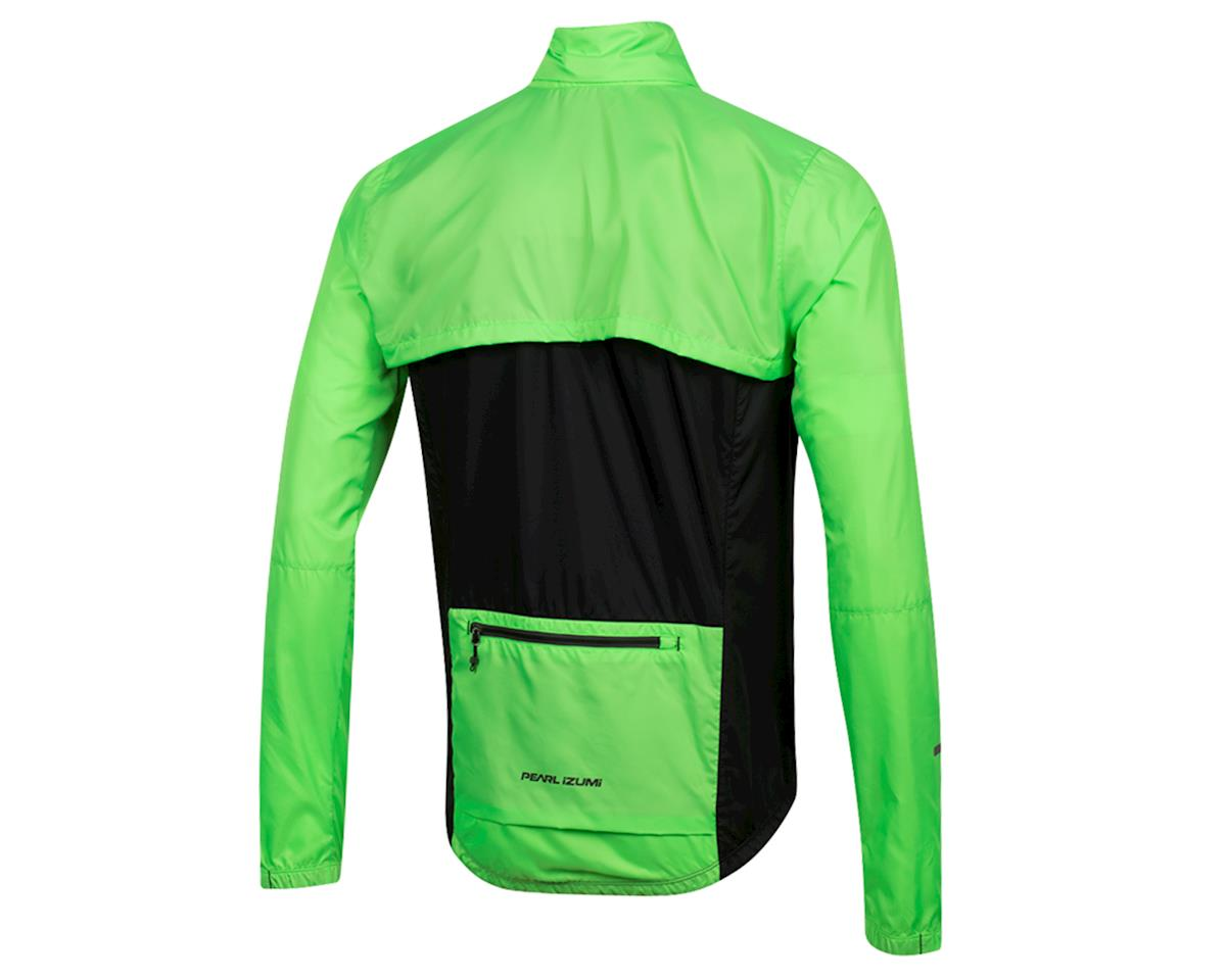 Image 2 for Pearl Izumi Elite Escape Convertible Jacket (Screaming Green/Black) (L)