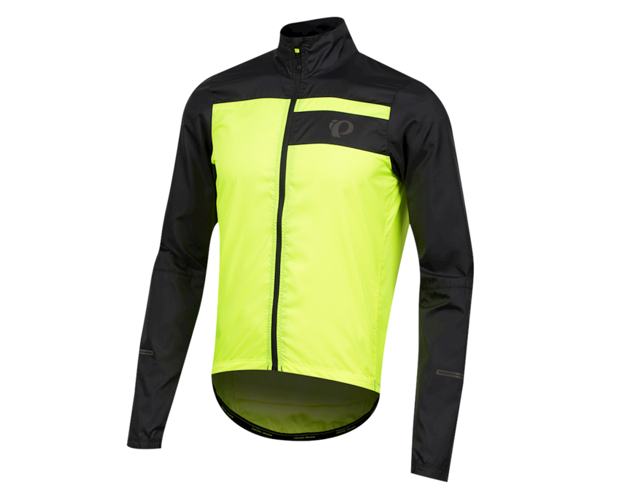 Pearl Izumi Elite Escape Barrier Jacket (Black/Screaming Yellow) (L)