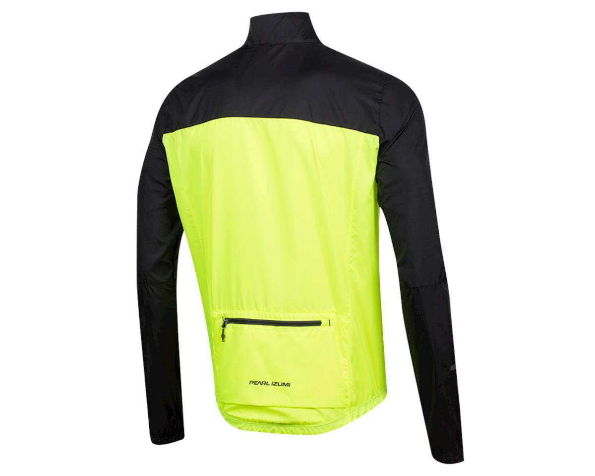 Pearl Izumi Elite Escape Barrier Jacket (Black/Screaming Yellow) (M)