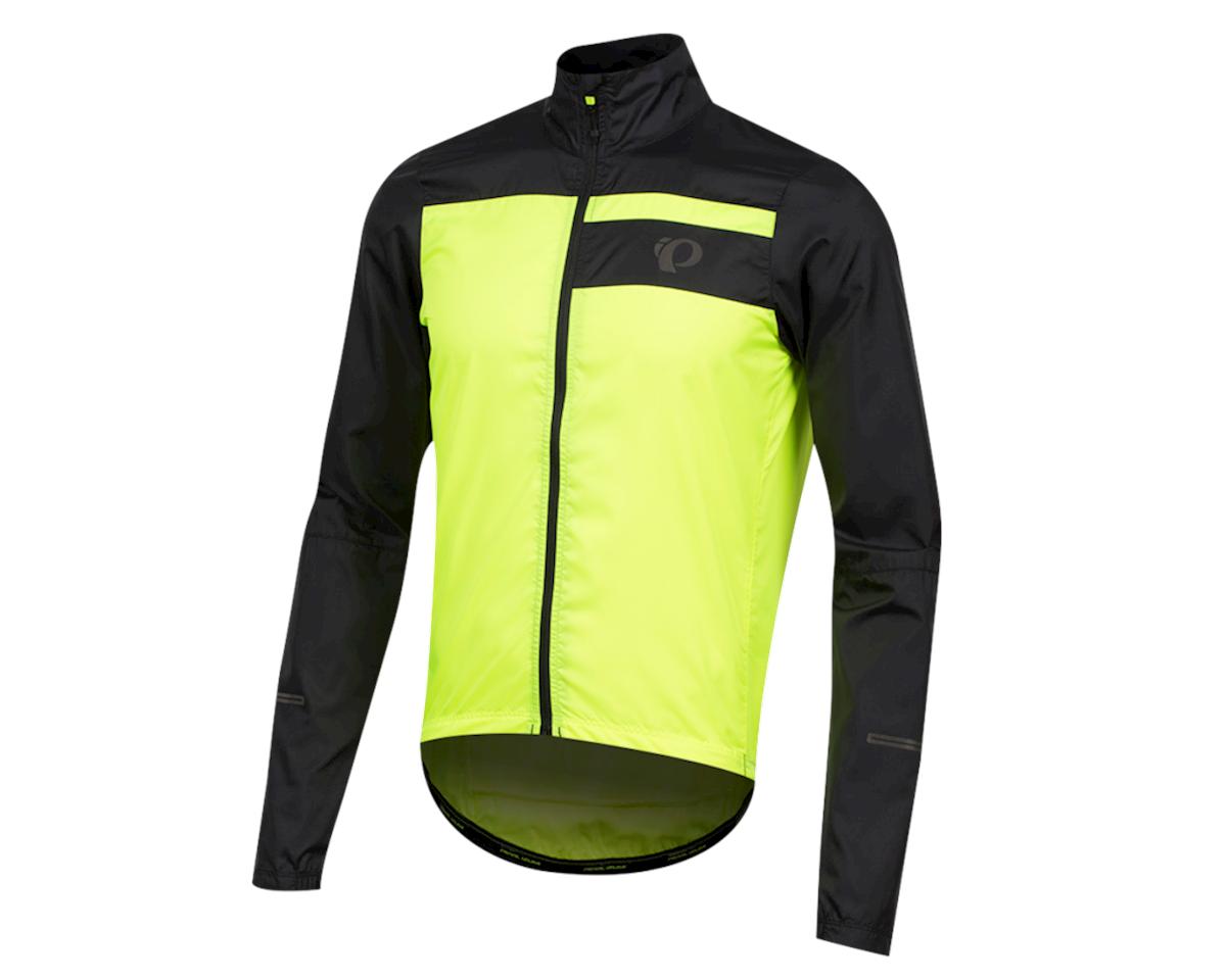 Pearl Izumi Elite Escape Barrier Jacket (Black/Screaming Yellow) (XL)