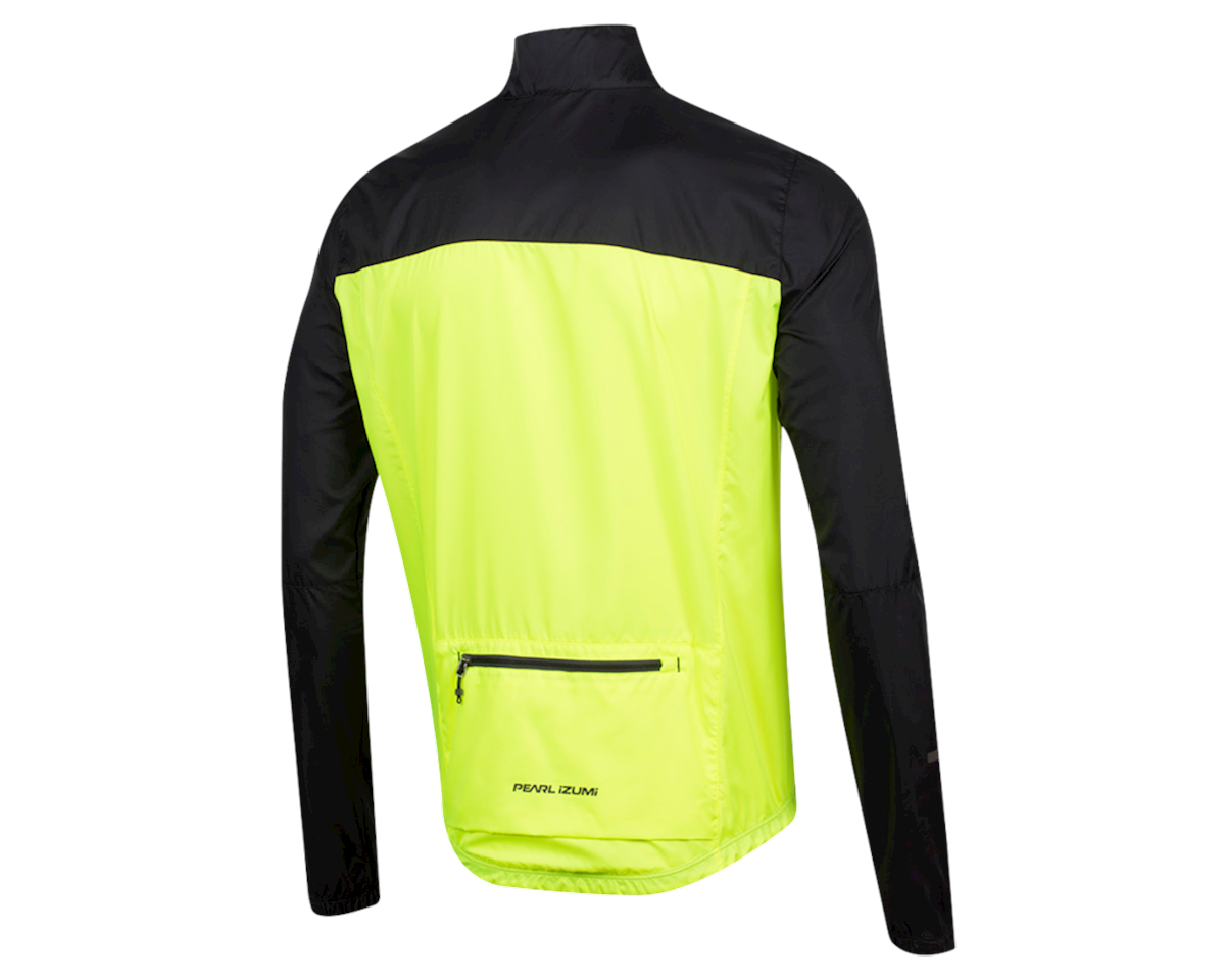Pearl Izumi Elite Escape Barrier Jacket (Black/Screaming Yellow) (XS)
