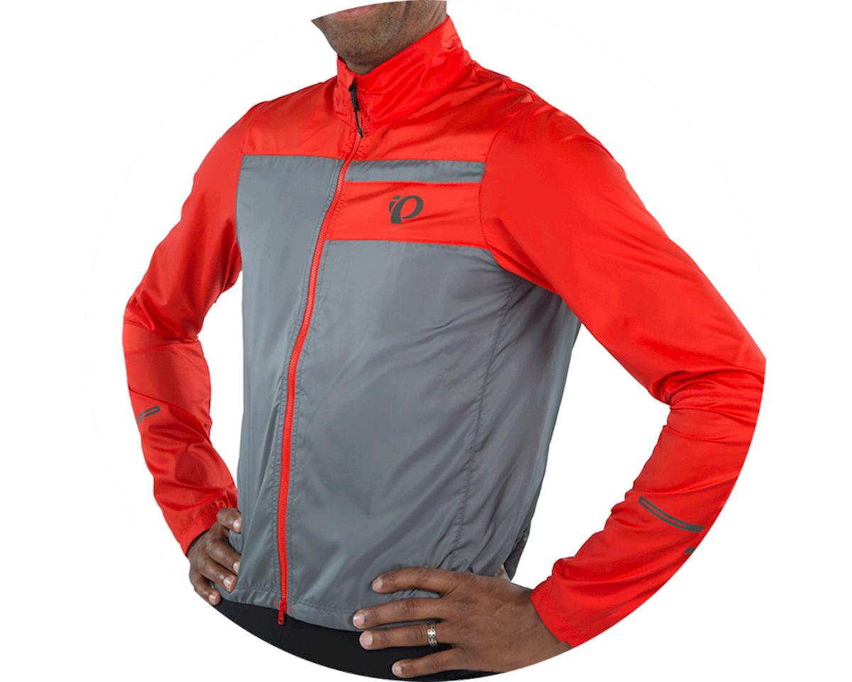 Pearl Izumi Elite Escape Barrier Jacket (Torch Red/Smoke Pearl) (L)