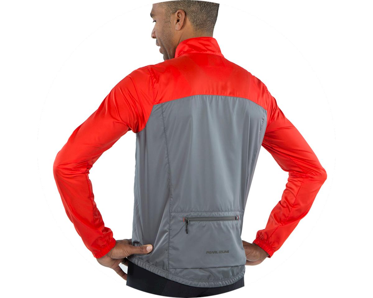 Pearl Izumi Elite Escape Barrier Jacket (Torch Red/Smoke Pearl) (XL)