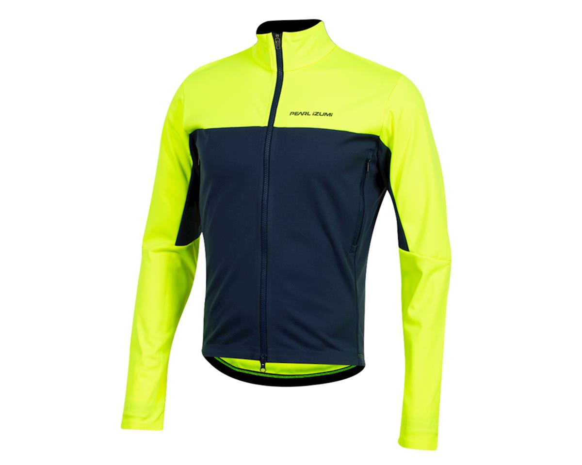 Pearl Izumi Elite Escape Amfib Jacket (Screaming Yellow/Navy) (2XL)