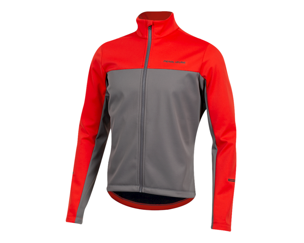 Pearl Izumi Quest Amfib Jacket (Torch Red/Smoked Pear) (M)