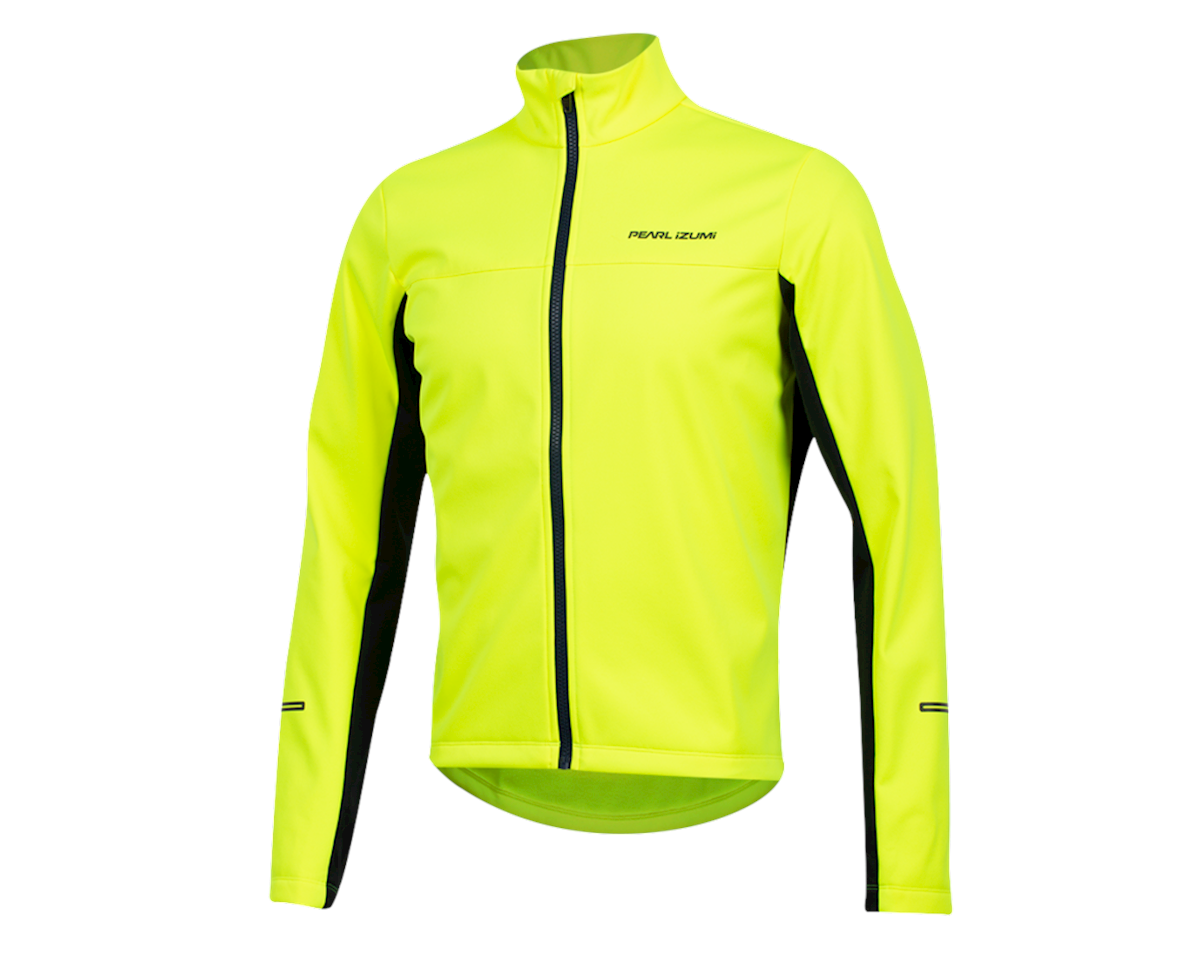 Pearl Izumi Quest AmFIB Jacket (Screaming  Yellow/Navy) (L)