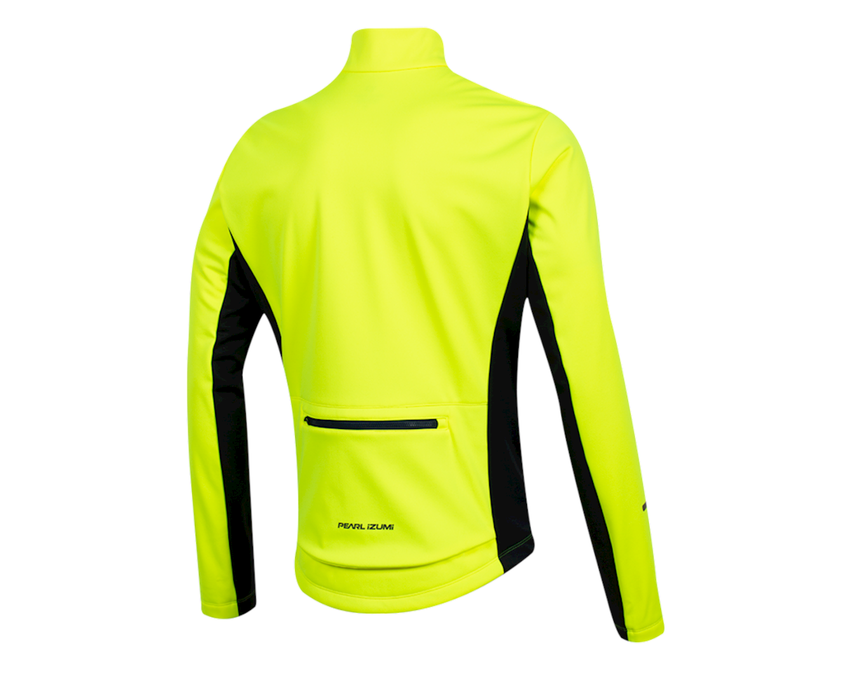 Pearl Izumi Quest Amfib Jacket (Screaming  Yellow/Navy) (M)