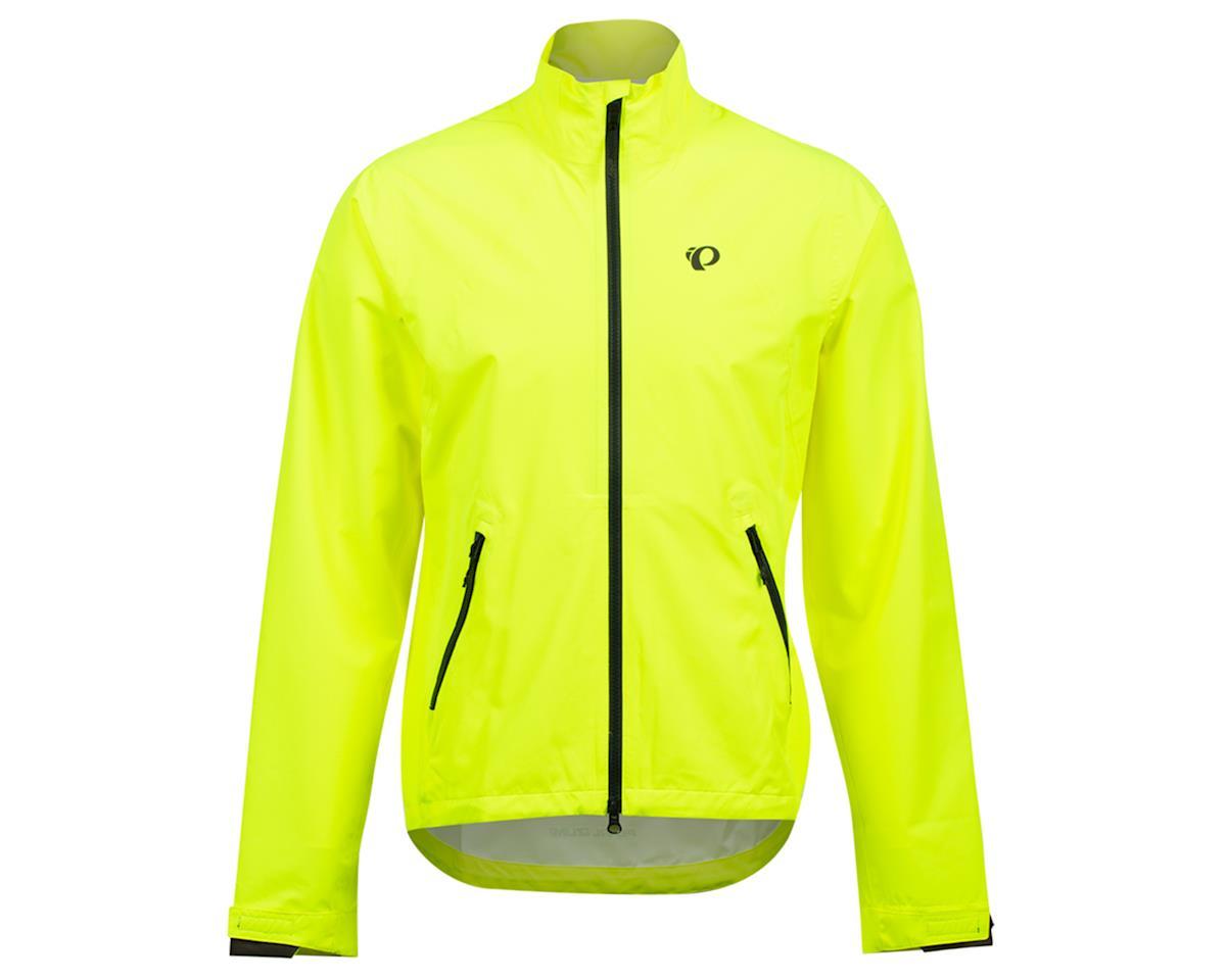 Pearl Izumi Monsoon WXB Jacket (Screaming Yellow/Phantom) (L)