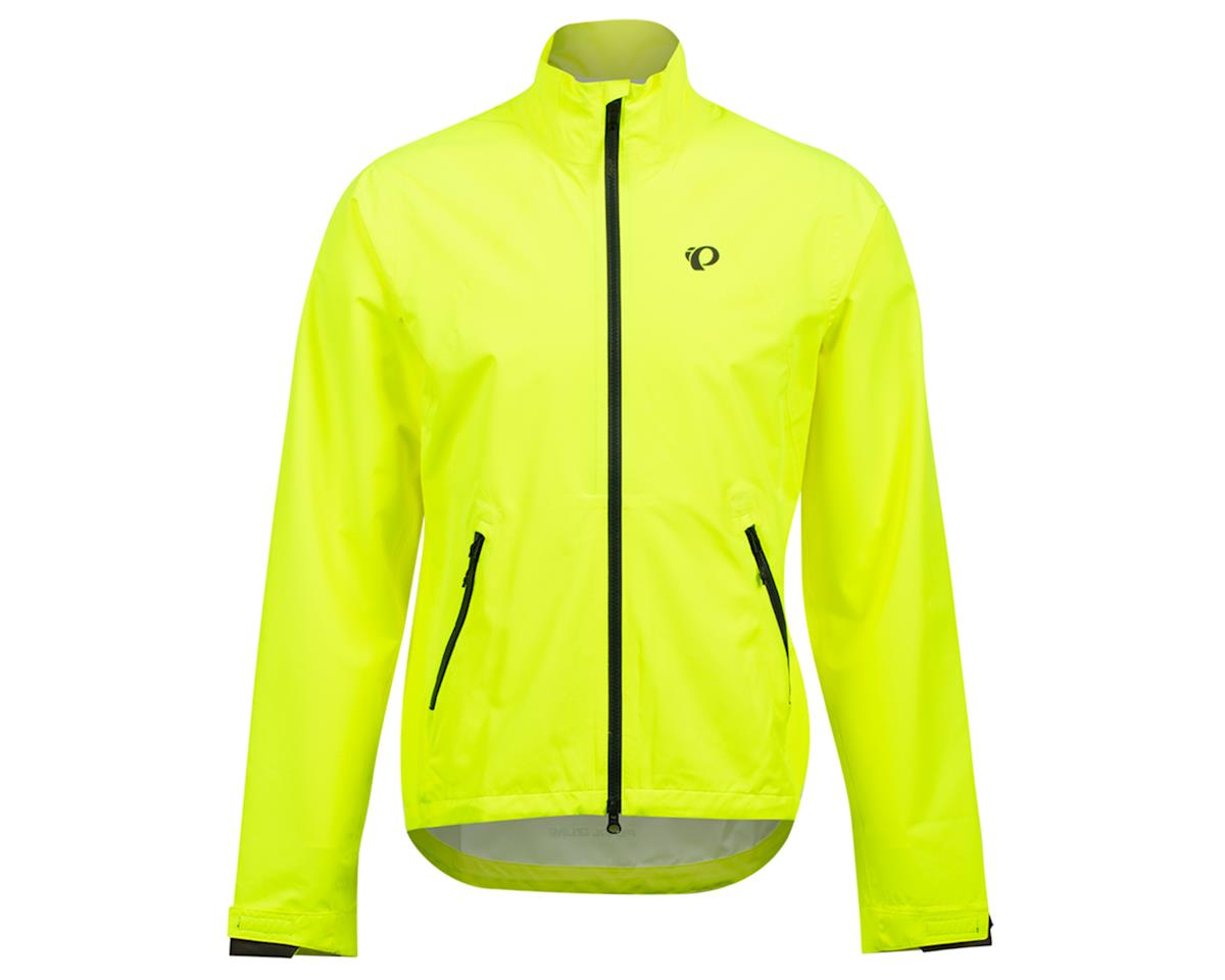 Image 1 for Pearl Izumi Monsoon WXB Jacket (Screaming Yellow/Phantom) (M)