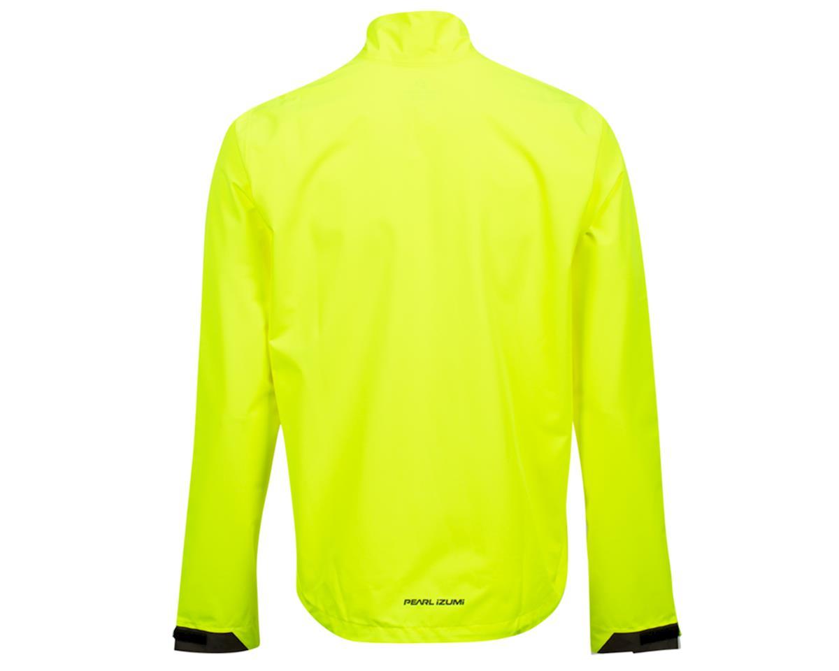 Image 2 for Pearl Izumi Monsoon WXB Jacket (Screaming Yellow/Phantom) (S)