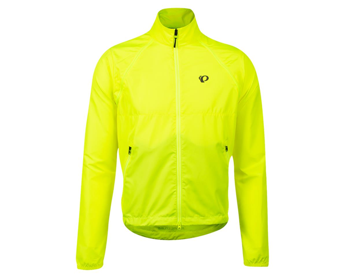 Image 1 for Pearl Izumi Quest Barrier Convertable Jacket (Screaming Yellow) (S)