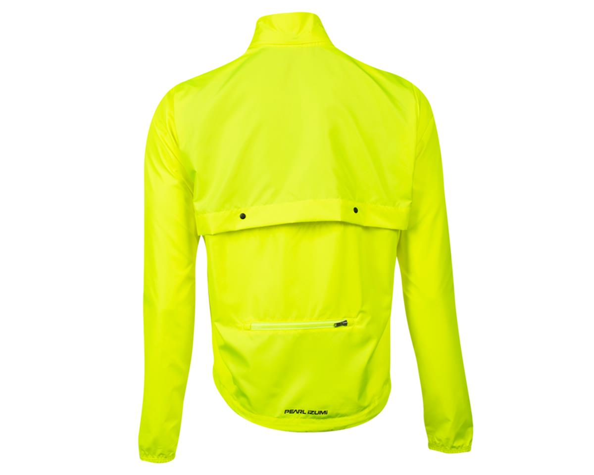 Image 2 for Pearl Izumi Quest Barrier Convertable Jacket (Screaming Yellow) (S)