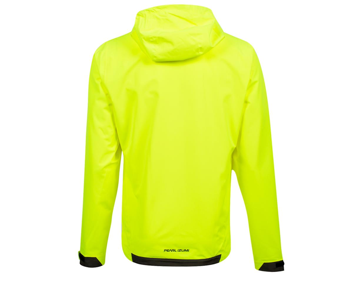 Image 2 for Pearl Izumi Monsoon WXB Hooded Jacket (Screaming Yellow/Phantom) (2XL)