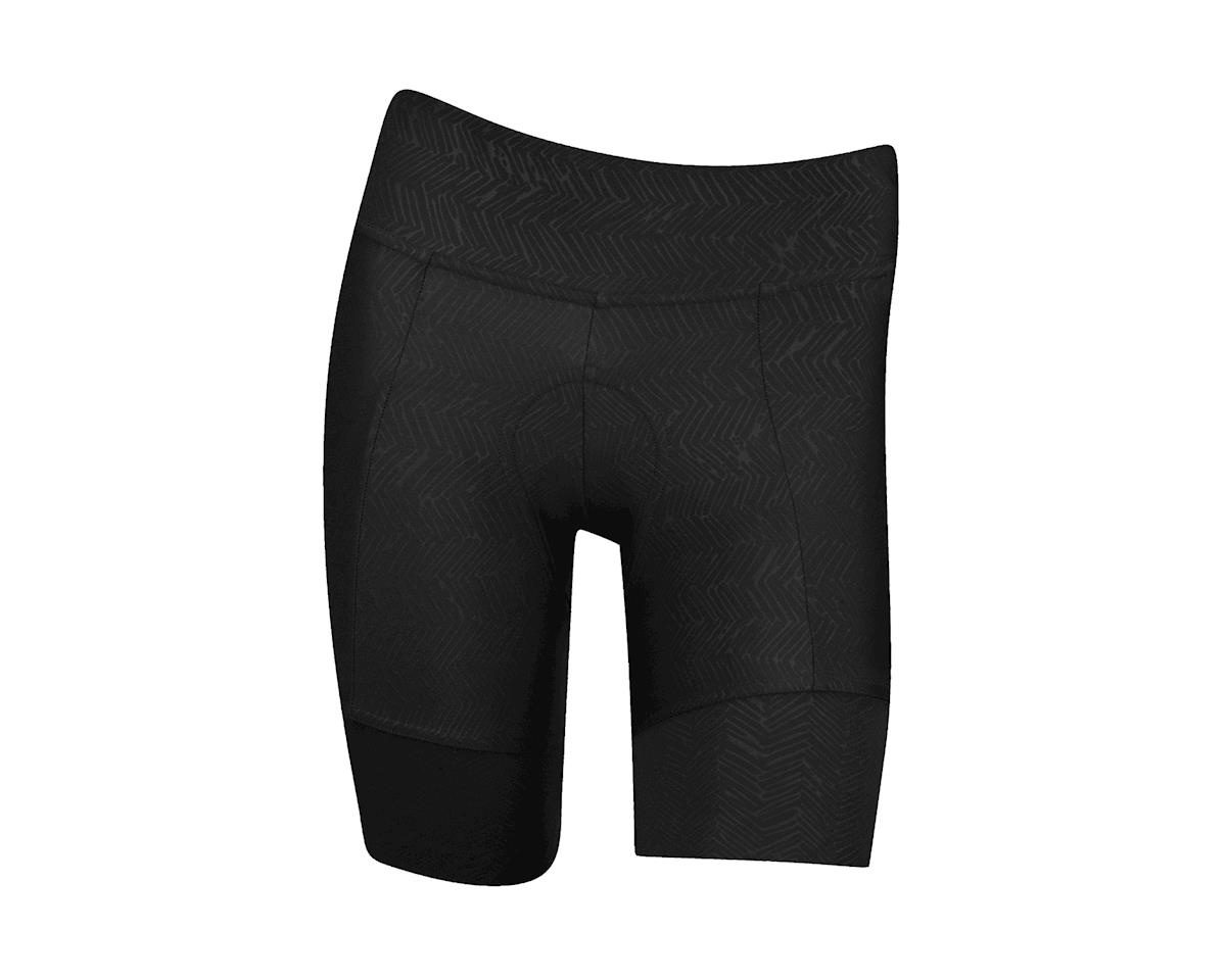 Pearl Izumi Women's Pursuit Attack Short (Black Texture)
