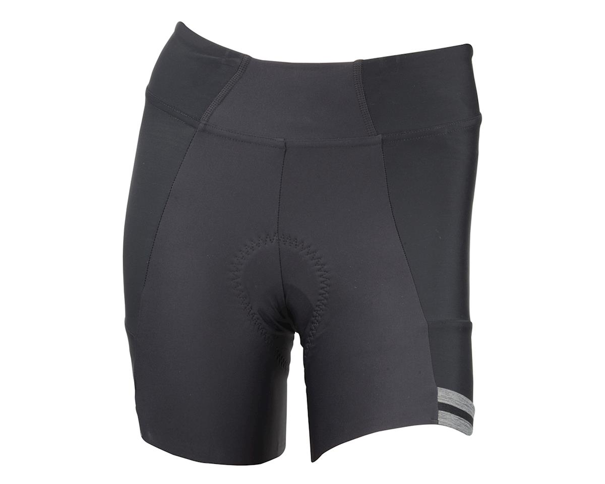 Pearl Izumi Women's Elite Escape Half Shorts (Black) (L)