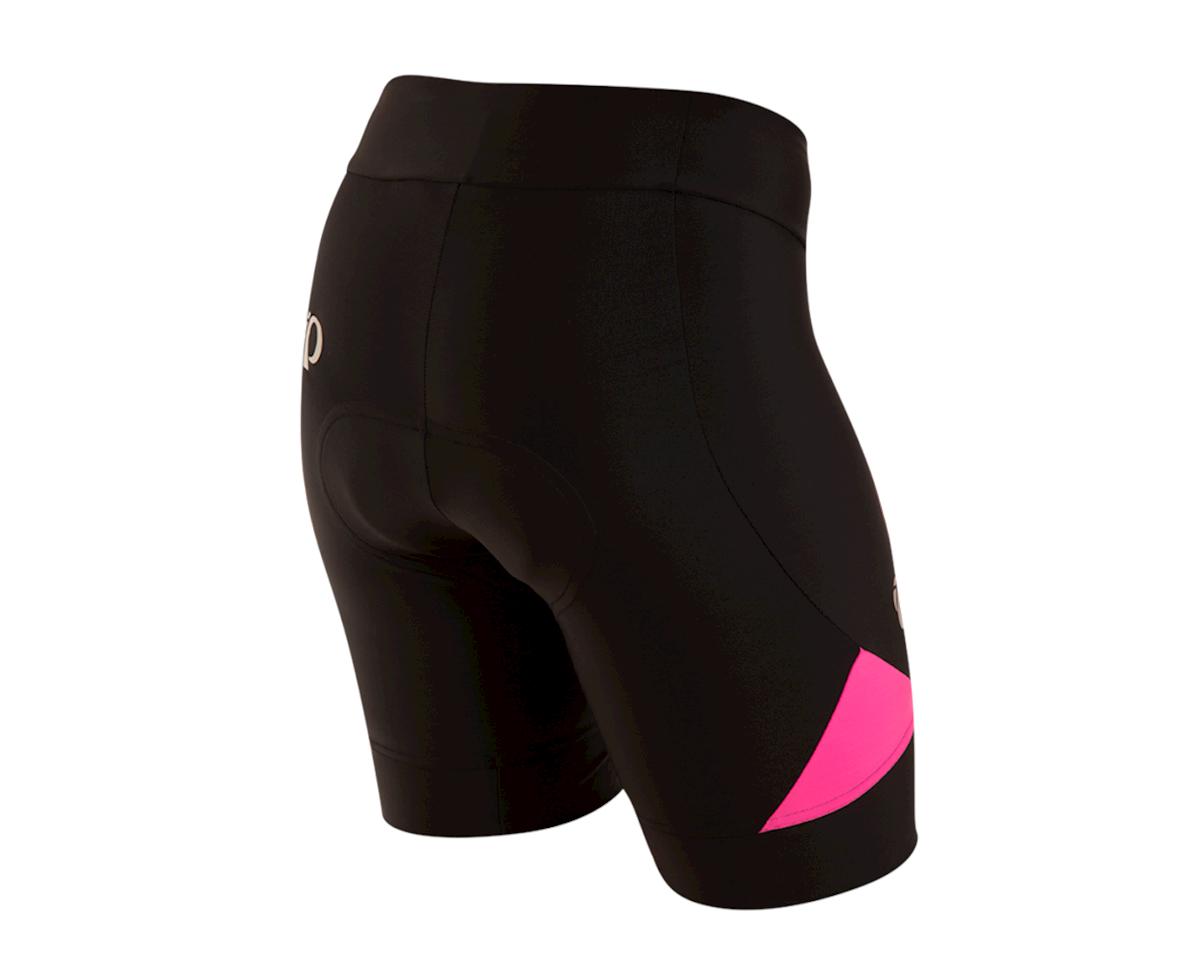 Pearl Izumi Women's Select Pursuit Short (Black/Screaming Pink) (L)