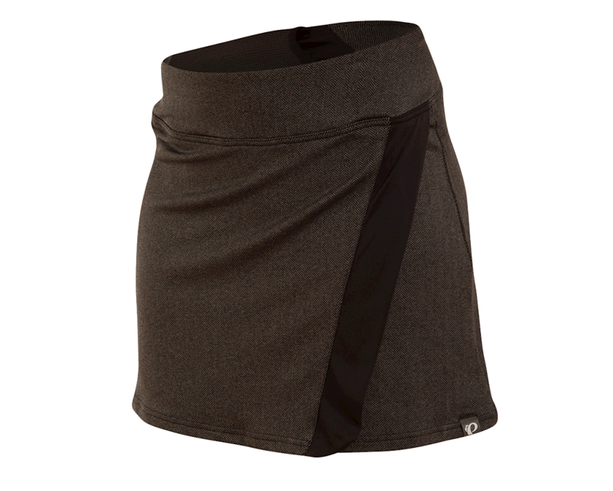 Pearl Izumi Women's Select Escape Cycling Skirt (Black/Herringbone)