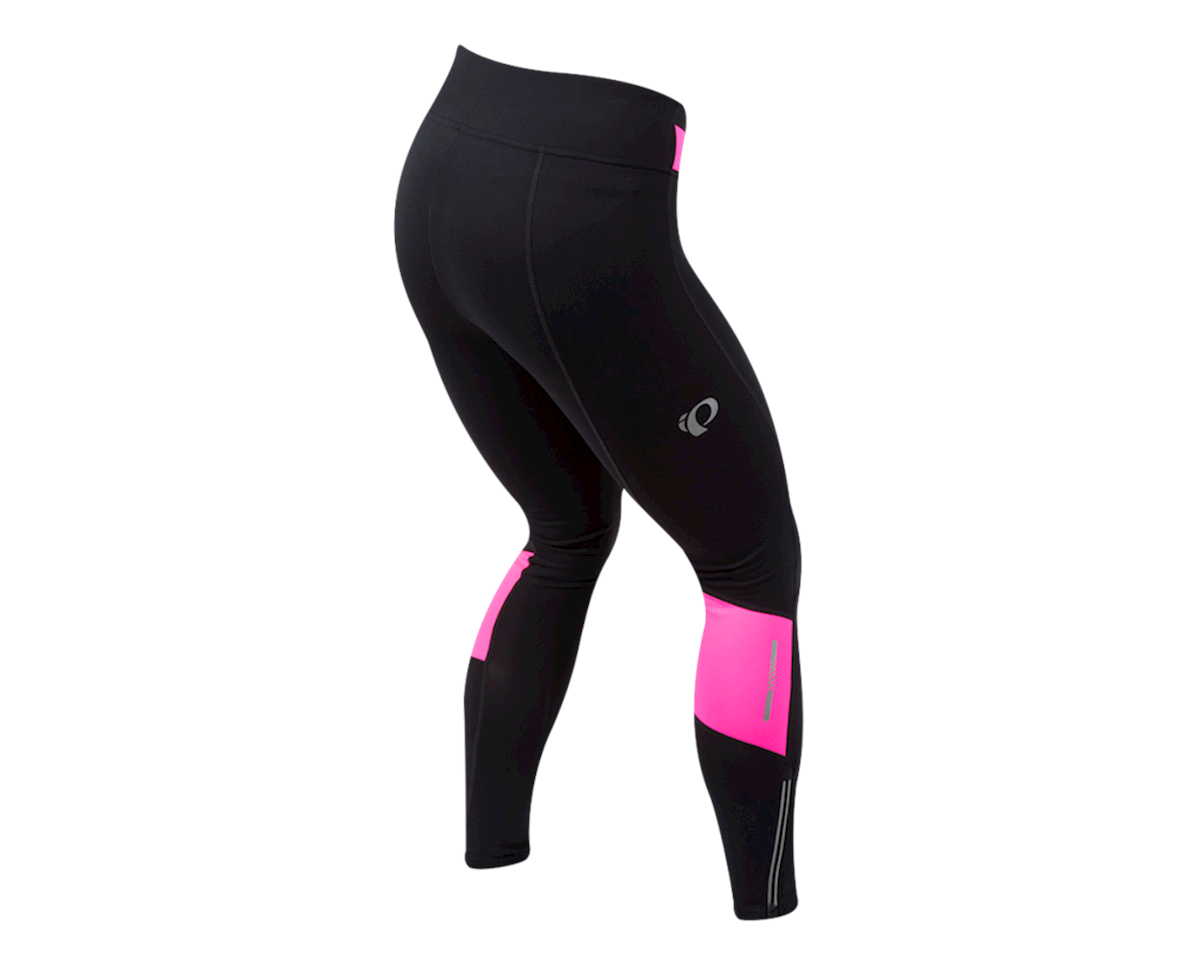 Pearl Izumi Women's Pursuit Thermal Tight (Black/Screaming Pink) (M)