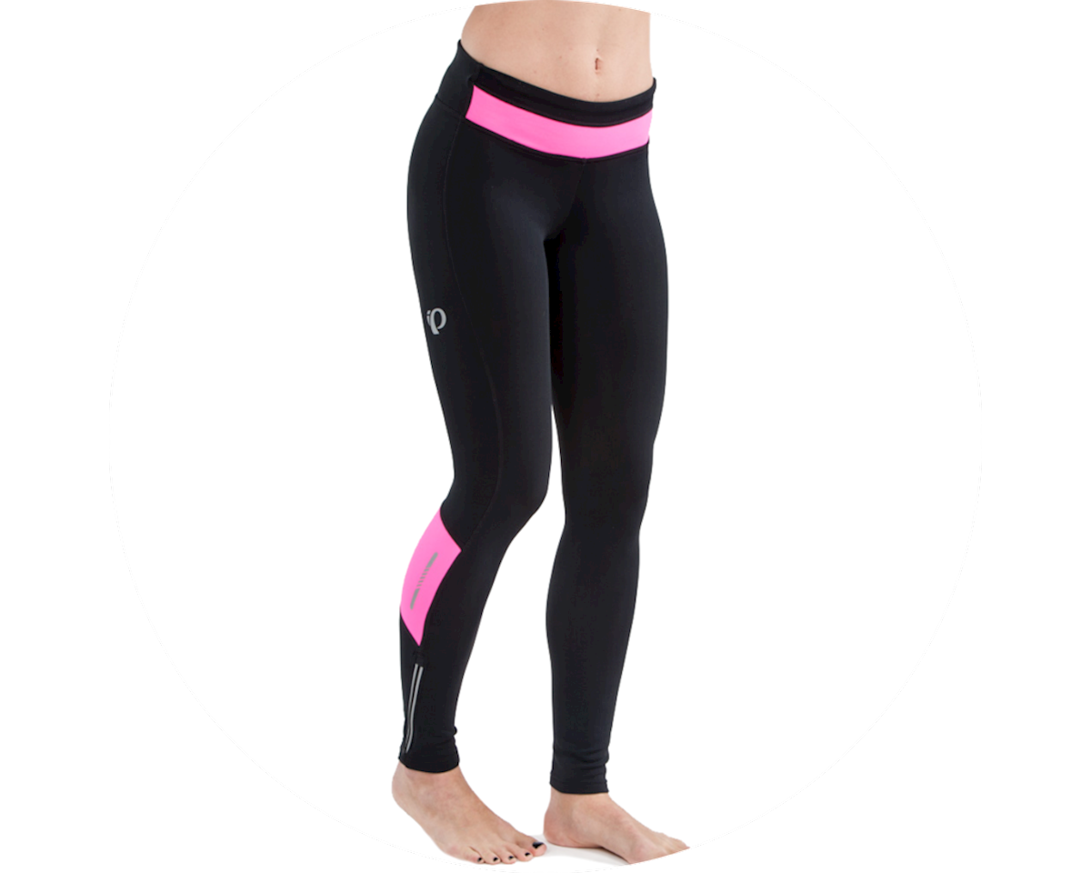 Pearl Izumi Women's Pursuit Thermal Tight (Black/Screaming Pink) (M)