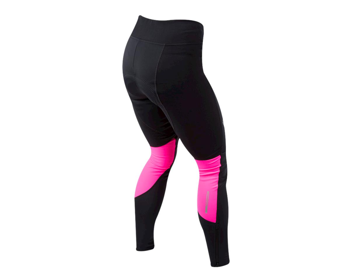 Pearl Izumi Women's Elite Escape Amfib Cycle Tight (Black/Screaming Pink) (L)