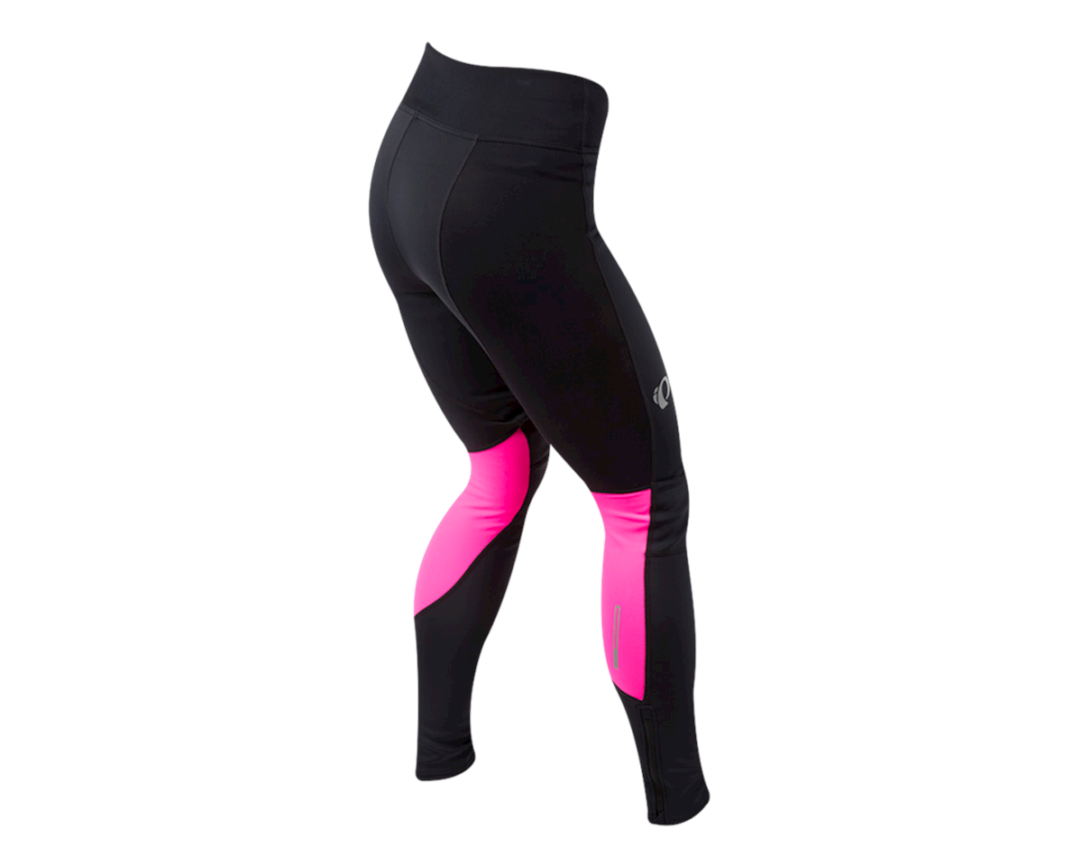 Pearl Izumi Women's Elite Escape Amfib Tight (Black/Screaming Pink) (XS)