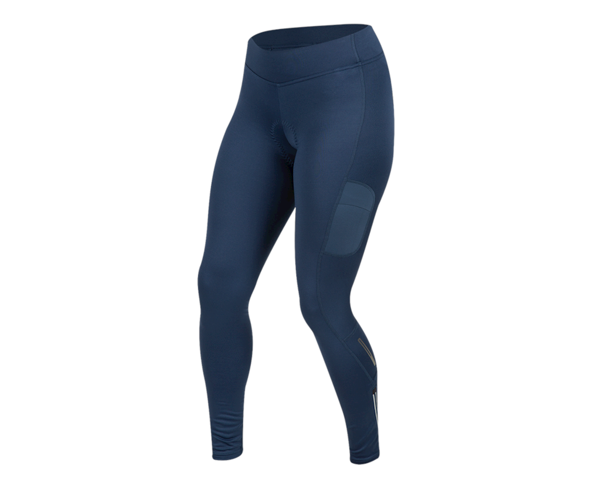Image 1 for Pearl Izumi Women's Escape Sugar Thermal Cycling Tight (Navy) (S)