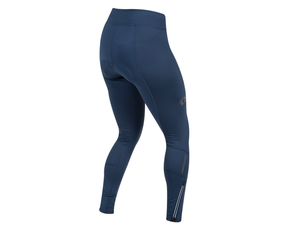 Image 2 for Pearl Izumi Women's Escape Sugar Thermal Cycling Tight (Navy) (S)