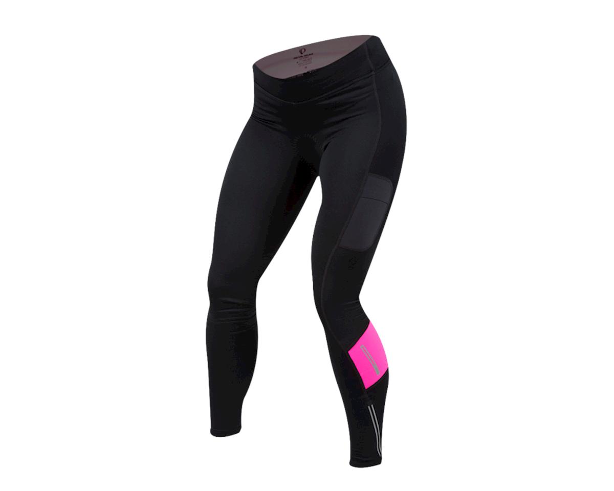 Image 1 for Pearl Izumi Women's Escape Sugar Thermal Tight (Black/Screaming Pink) (S)