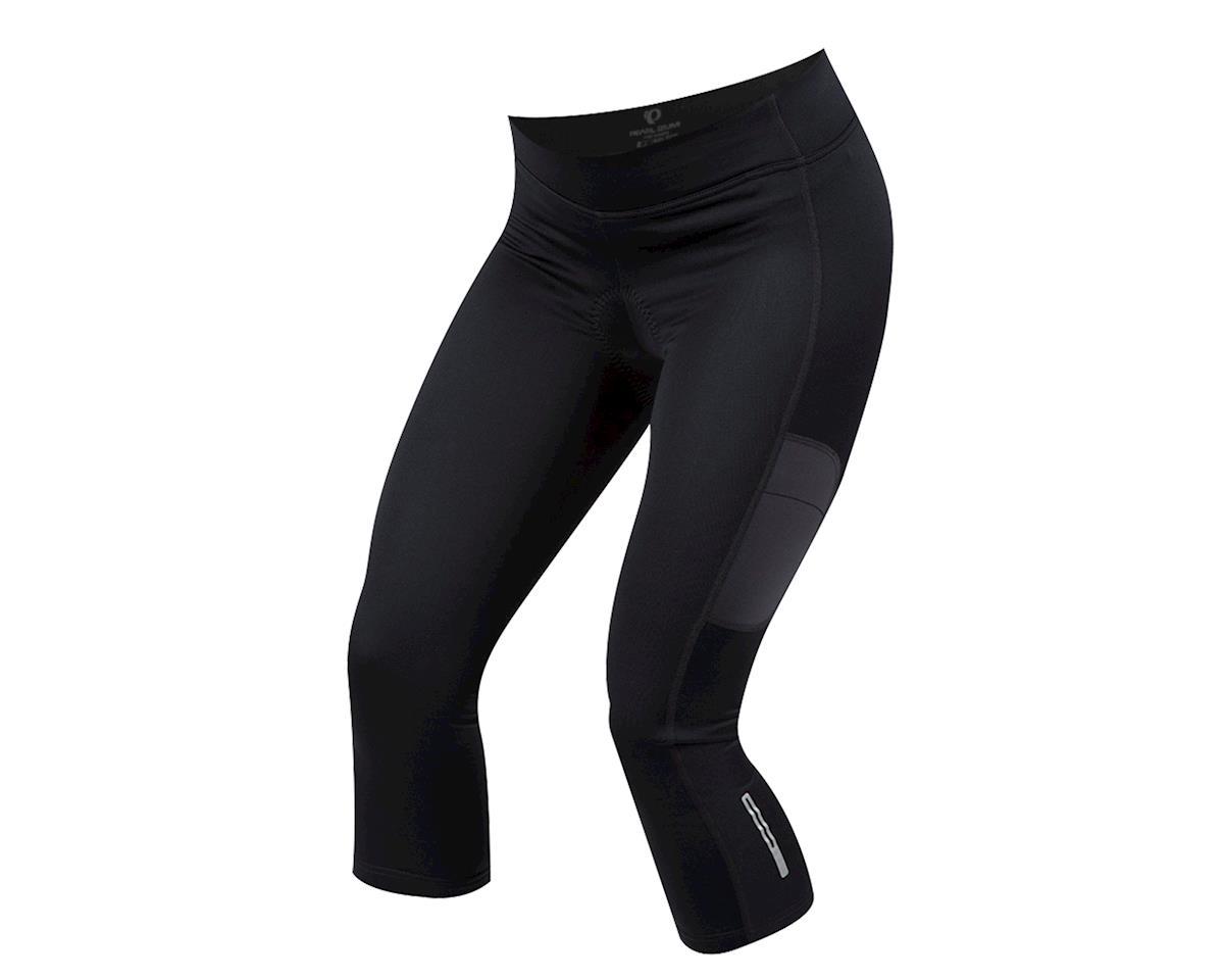 Pearl Izumi Women's Sugar Thermal 3/4 Cycling Tight (Black) (XL)
