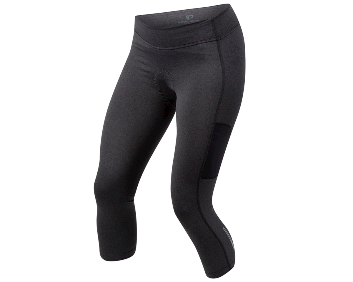 Pearl Izumi Women's Sugar Thermal Cycle 3/4 Tight (Black)