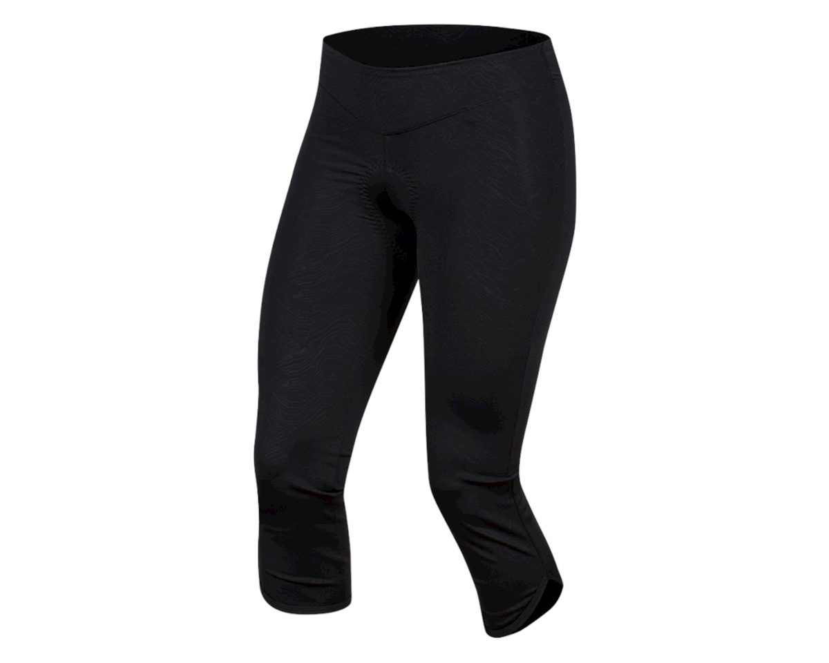 Pearl Izumi Women's Select Escape Cycle 3/4 Tight (Black Phyllite Texture) (2XL)