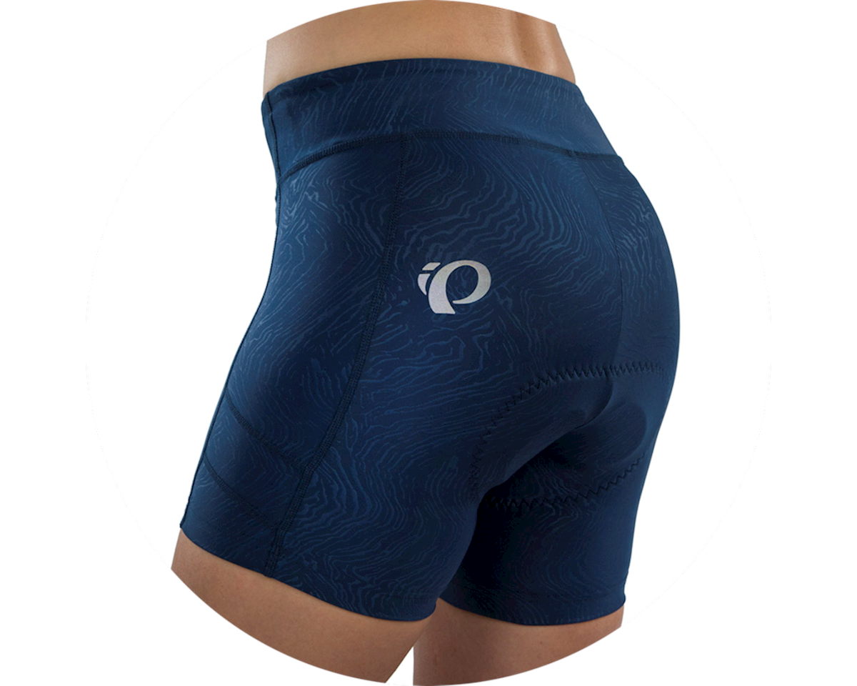 Pearl Izumi Women's Escape Sugar Short (Navy Phylite Texture) (2XL)
