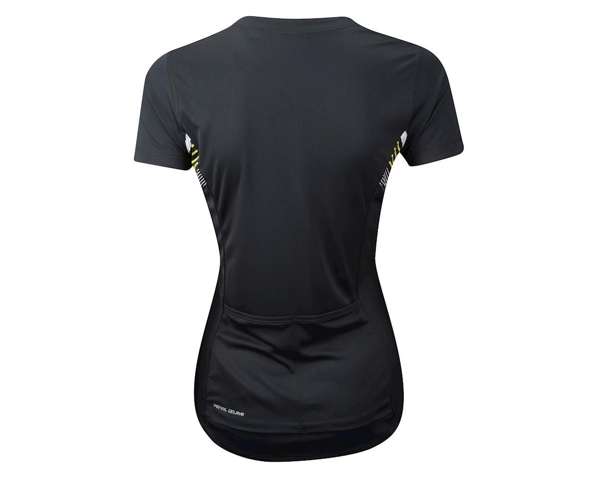 Pearl Izumi Women's Select Print Short Sleeve Jersey (Black/Grey) (Large)