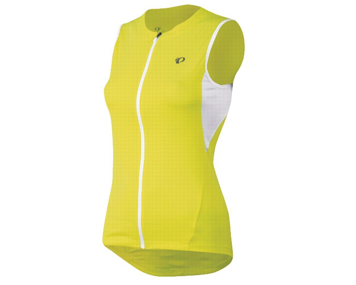 Pearl Izumi Women's SELECT Sleeveless Jersey (Screaming Yellow) (Large 37.5-40)