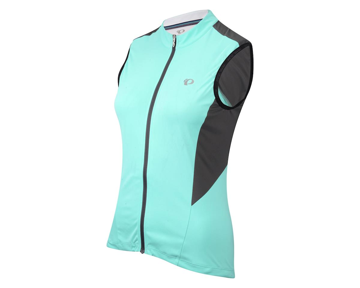 Pearl Izumi Women's Elite Pursuit Sleeveless Jersey (Mint) (Xlarge)