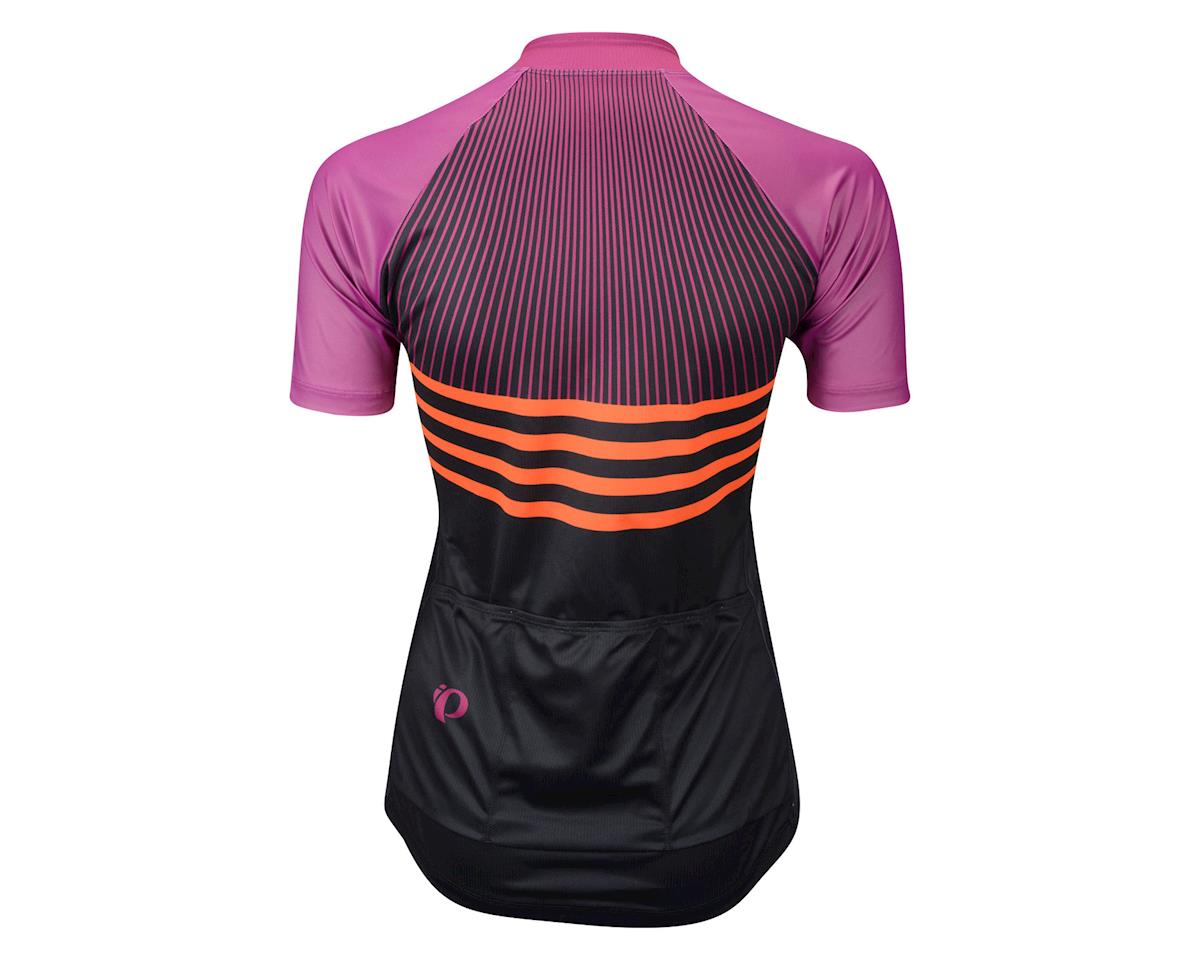 Image 2 for Pearl Izumi Women's Elite Pursuit LTD Short Sleeve Jersey (Black/Purple) (Large)
