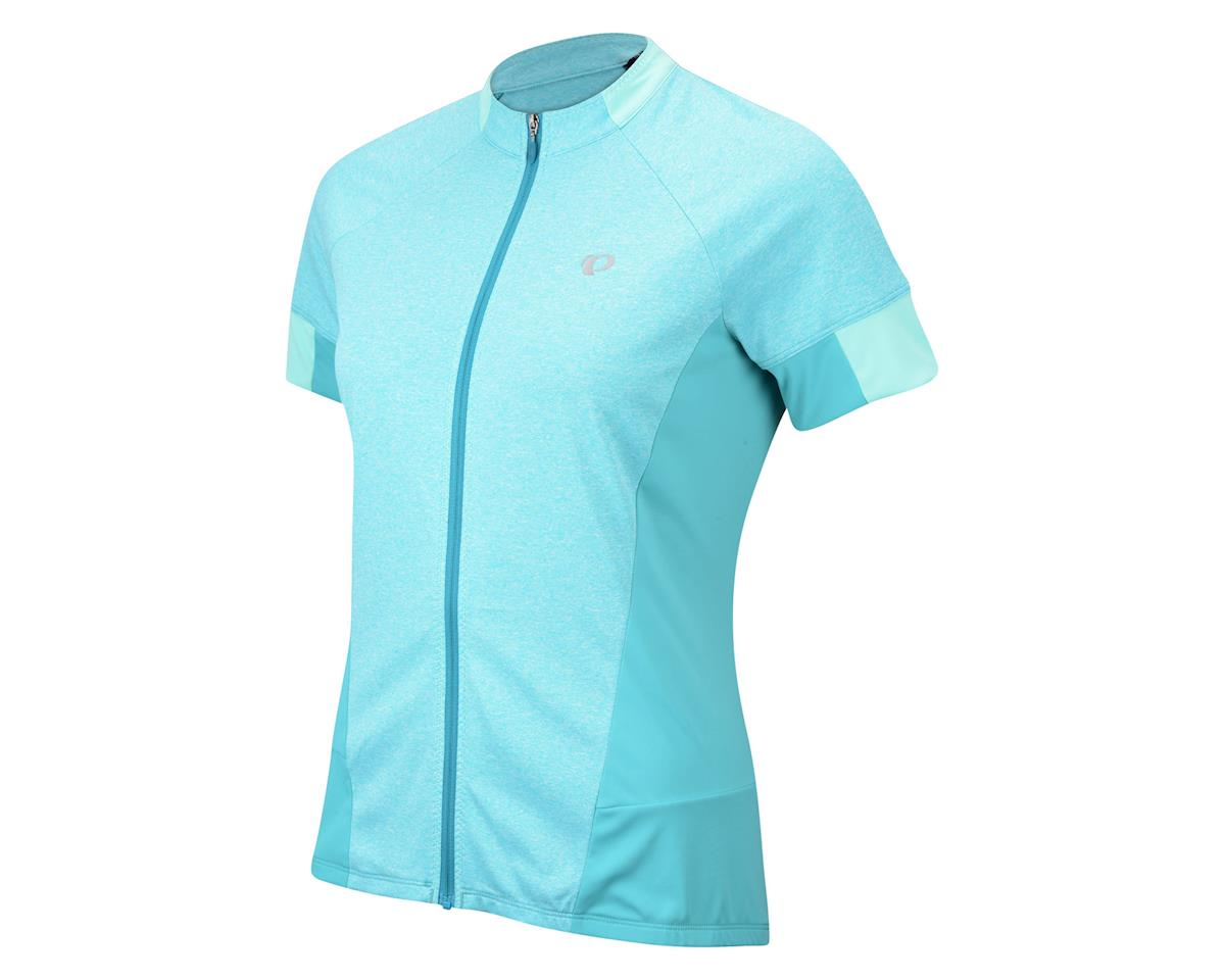 Pearl Izumi Women's Select Escape Short Sleeve Jersey (Aqua) (Large)