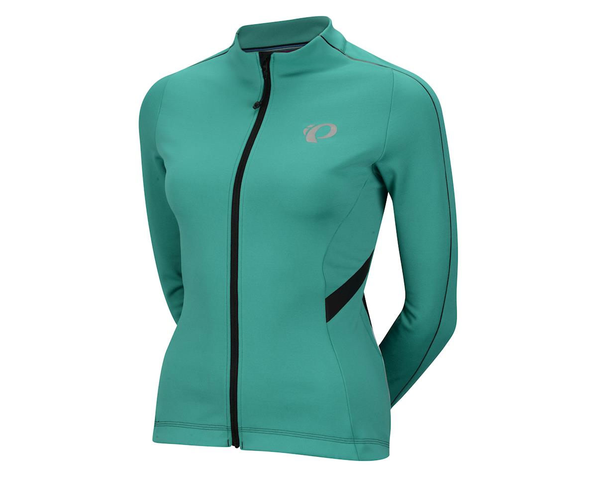Pearl Izumi Women's P.R.O. Pursuit Thermal Long Sleeve Jersey (Teal Gr) (Xlarge)