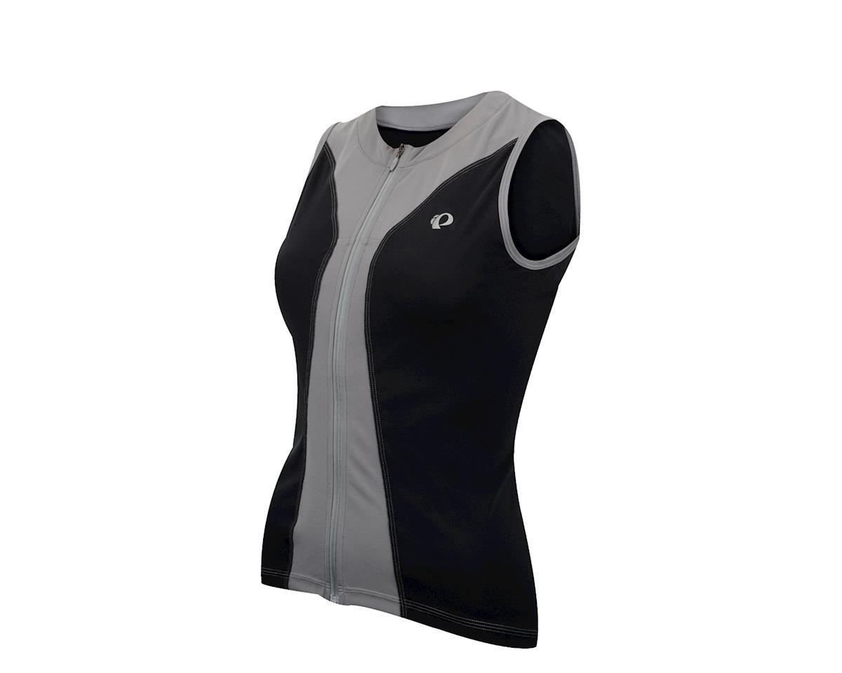Pearl Izumi Women s Select Pursuit Sleeveless Jersey (Black Grey ... a1b8f72df