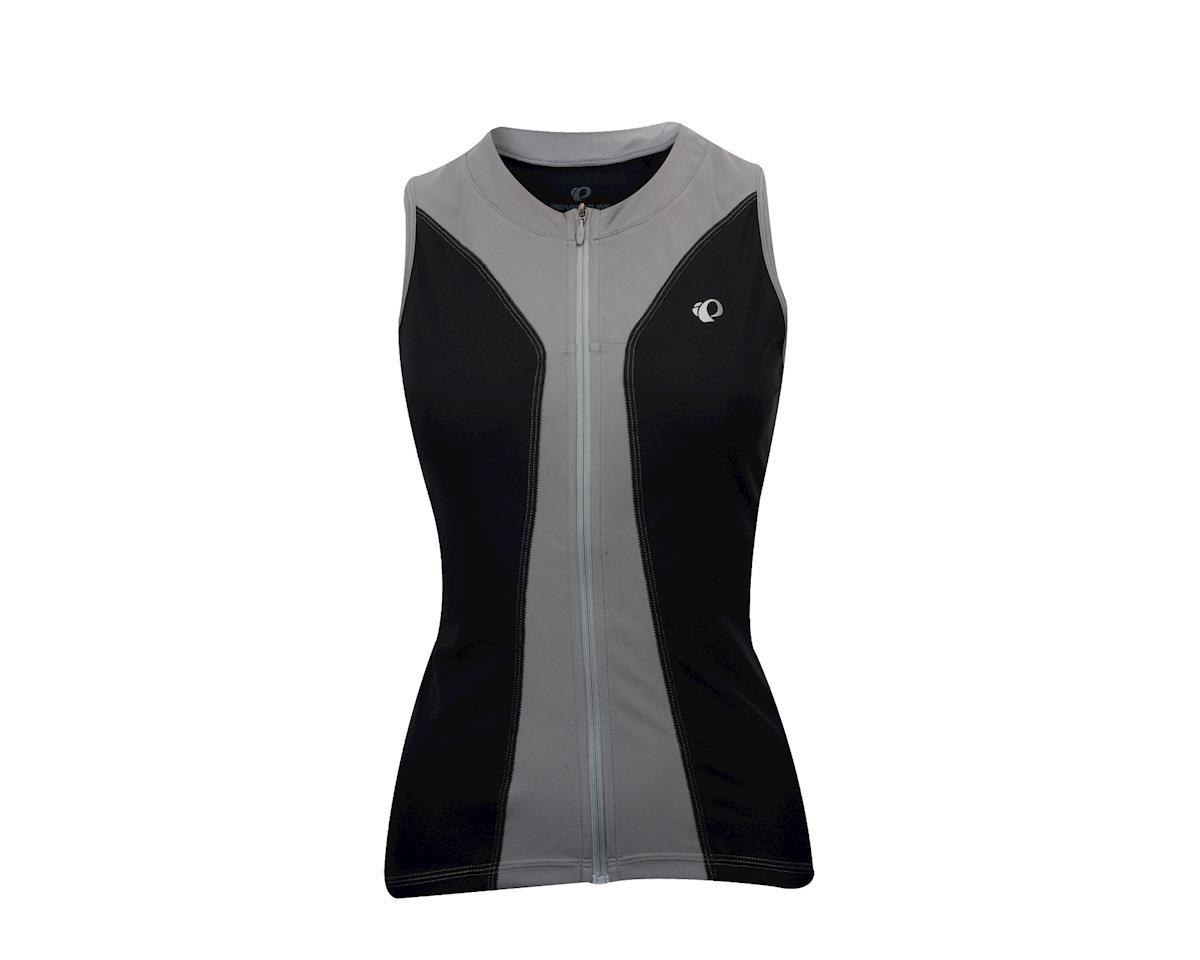 Pearl Izumi Women's Select Pursuit Sleeveless Jersey (Black/Grey) (Large)