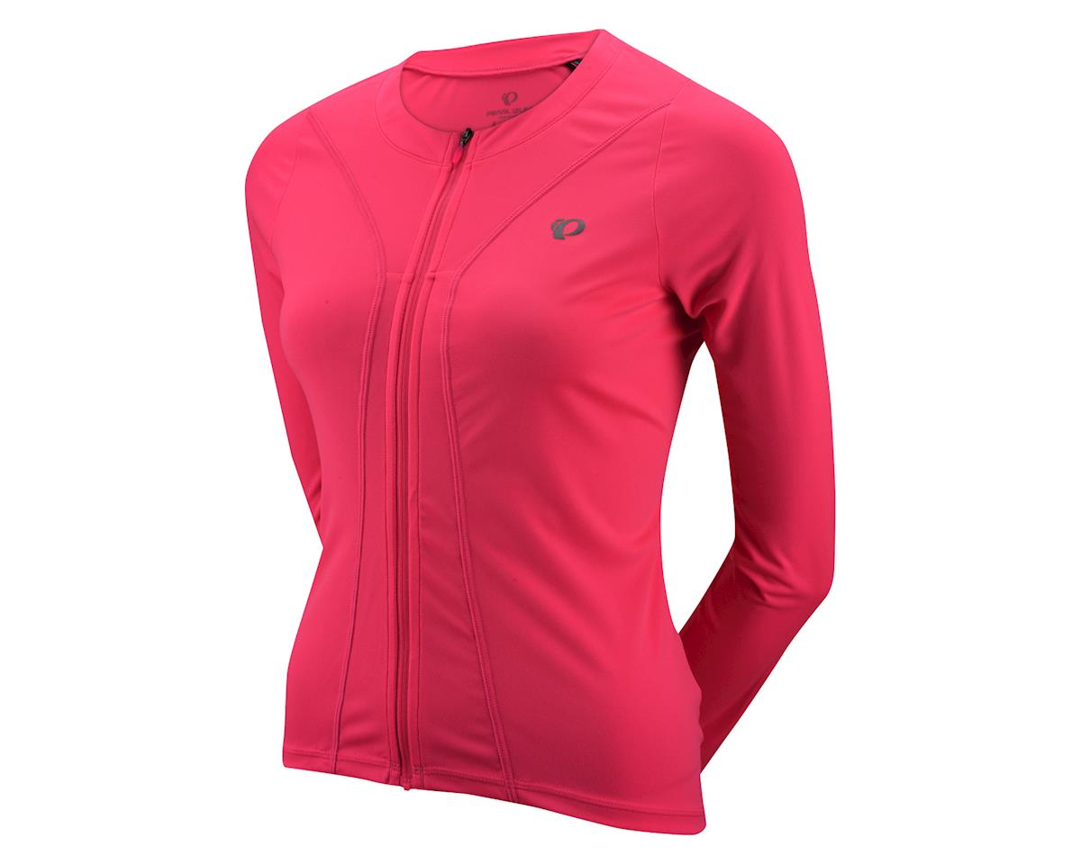 Pearl Izumi Women's Select Pursuit Long Sleeve Jersey (Pink) (Xlarge)
